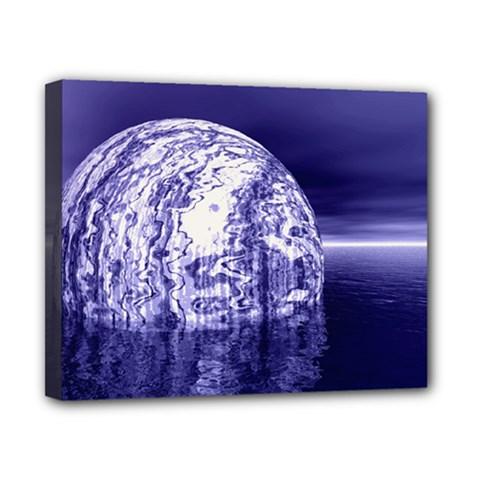 Ball Canvas 10  x 8  (Framed)