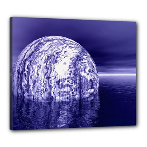 Ball Canvas 24  x 20  (Framed)
