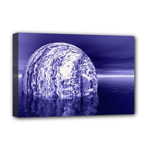 Ball Deluxe Canvas 18  x 12  (Framed)