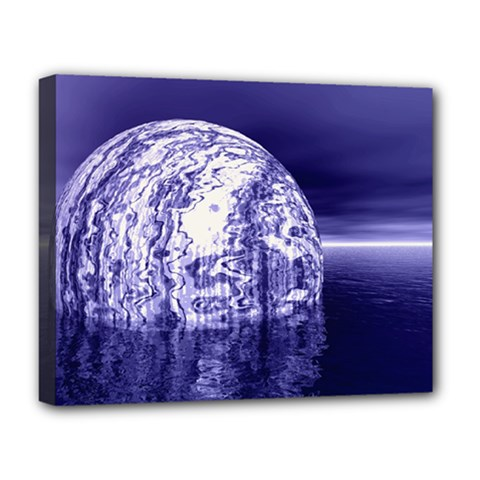 Ball Deluxe Canvas 20  x 16  (Framed)