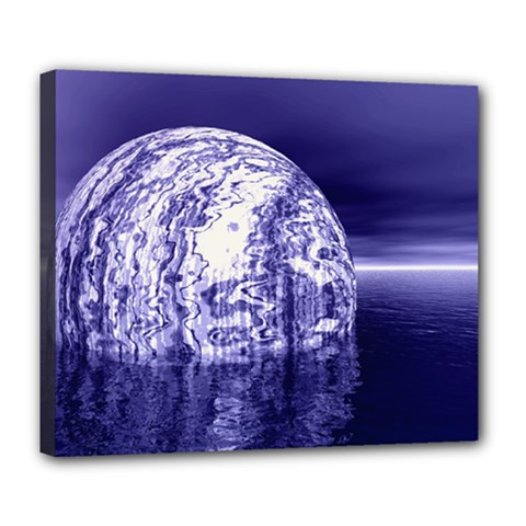 Ball Deluxe Canvas 24  x 20  (Framed)