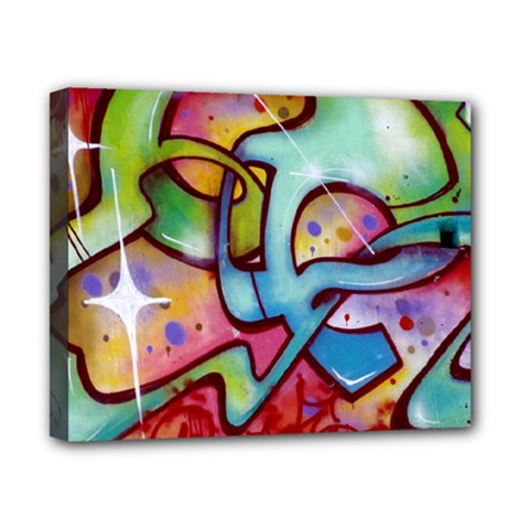 Graffity Canvas 10  x 8  (Framed)