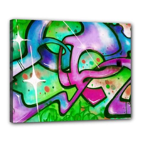 Graffity Canvas 20  x 16  (Framed)