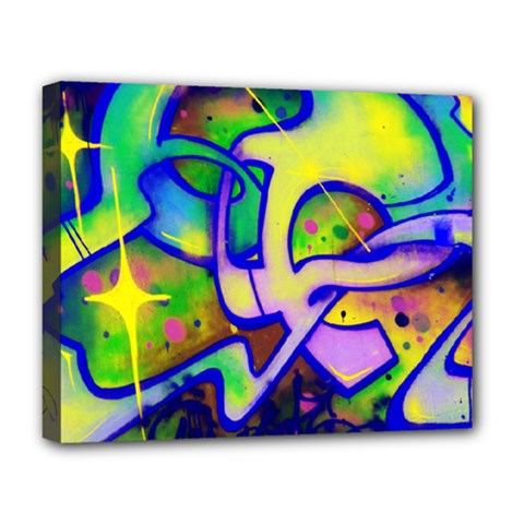 Graffity Deluxe Canvas 20  x 16  (Framed)