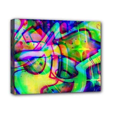 Graffity Canvas 10  x 8  (Framed)