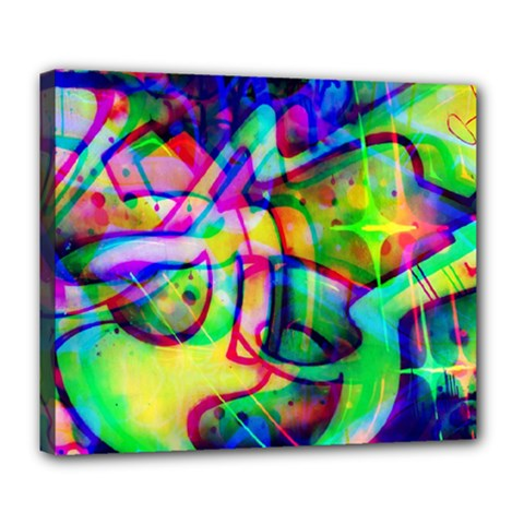 Graffity Deluxe Canvas 24  x 20  (Framed)