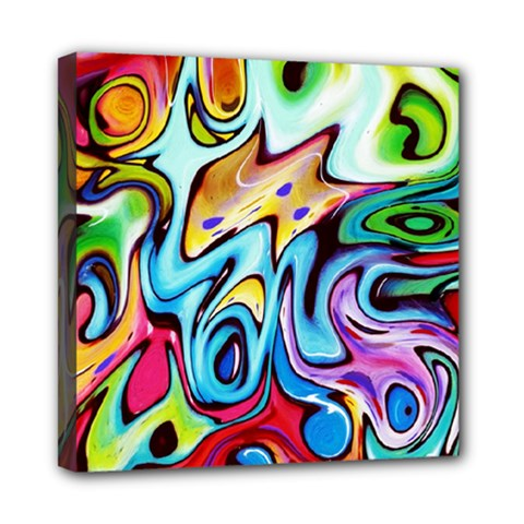 Graffity Mini Canvas 8  x 8  (Framed)