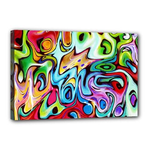Graffity Canvas 18  x 12  (Framed)