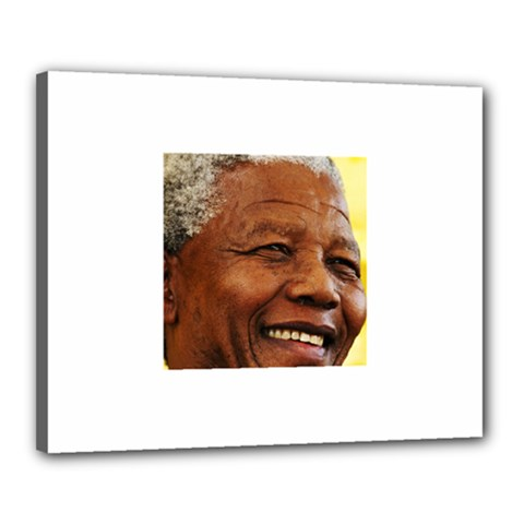 Mandela Canvas 20  x 16  (Framed)