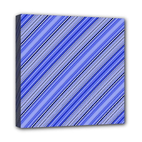 Lines Mini Canvas 8  x 8  (Framed)