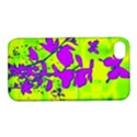 Butterfly Green Apple iPhone 4/4S Hardshell Case with Stand View1