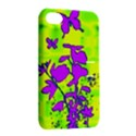 Butterfly Green Apple iPhone 4/4S Hardshell Case with Stand View2