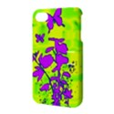Butterfly Green Apple iPhone 4/4S Hardshell Case with Stand View3