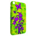 Butterfly Green Samsung Galaxy Tab 3 (8 ) T3100 Hardshell Case  View2