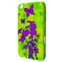 Butterfly Green Samsung Galaxy Tab 3 (8 ) T3100 Hardshell Case  View3