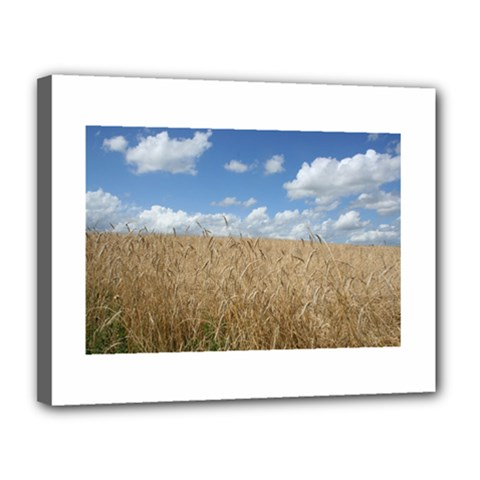 Gettysburg 1 068 Canvas 14  x 11  (Framed)