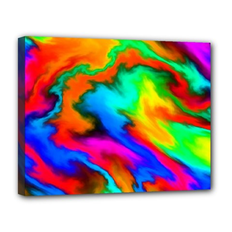 Crazy Effects  Canvas 14  x 11  (Framed)