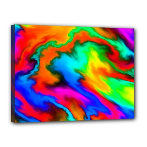 Crazy Effects  Canvas 16  x 12  (Framed)