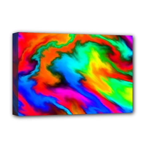Crazy Effects  Deluxe Canvas 18  x 12  (Framed)
