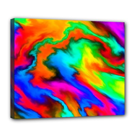 Crazy Effects  Deluxe Canvas 24  x 20  (Framed)