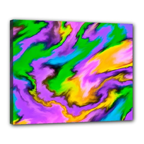 Crazy Effects  Canvas 20  x 16  (Framed)