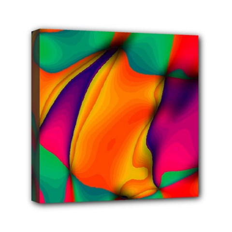 Crazy Effects  Mini Canvas 6  x 6  (Framed)