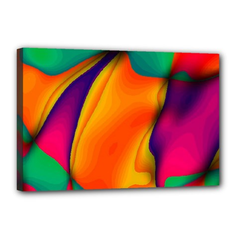 Crazy Effects  Canvas 18  x 12  (Framed)