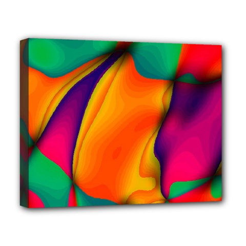 Crazy Effects  Deluxe Canvas 20  X 16  (framed)