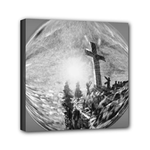 The Apple Of God s Eye Is Jesus - Ave Hurley - ArtRave - Mini Canvas 6  x 6  (Stretched)