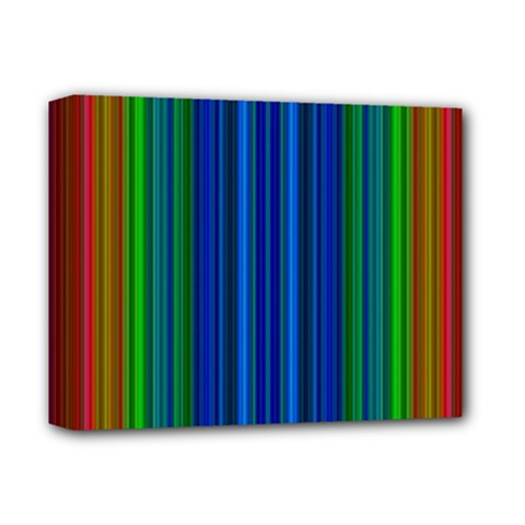Strips Deluxe Canvas 14  x 11  (Framed)