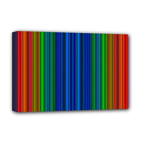 Strips Deluxe Canvas 18  X 12  (framed)