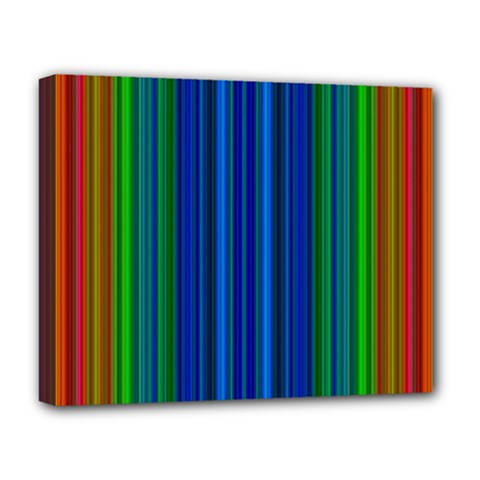 Strips Deluxe Canvas 20  x 16  (Framed)