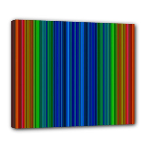Strips Deluxe Canvas 24  x 20  (Framed)