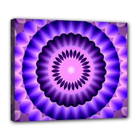 Mandala Deluxe Canvas 24  x 20  (Framed)