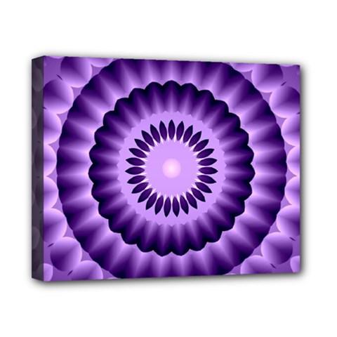 Mandala Canvas 10  x 8  (Framed)
