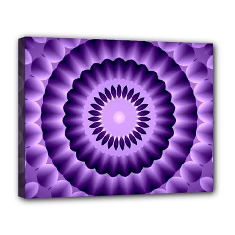 Mandala Canvas 14  X 11  (framed)