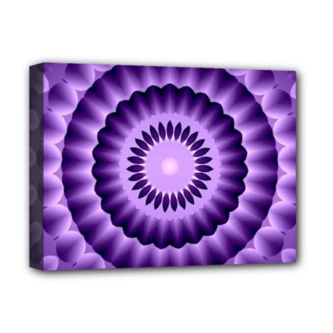 Mandala Deluxe Canvas 16  X 12  (framed)