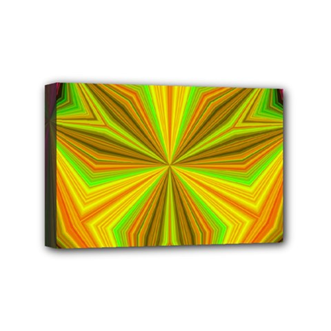 Abstract Mini Canvas 6  x 4  (Framed)