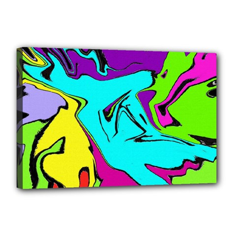 Abstract Canvas 18  X 12  (framed)