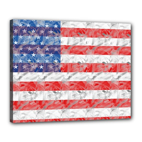 Flag Canvas 20  x 16  (Framed)