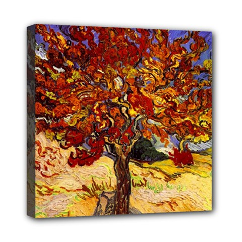 Vincent Van Gogh Mulberry Tree Mini Canvas 8  x 8  (Framed)
