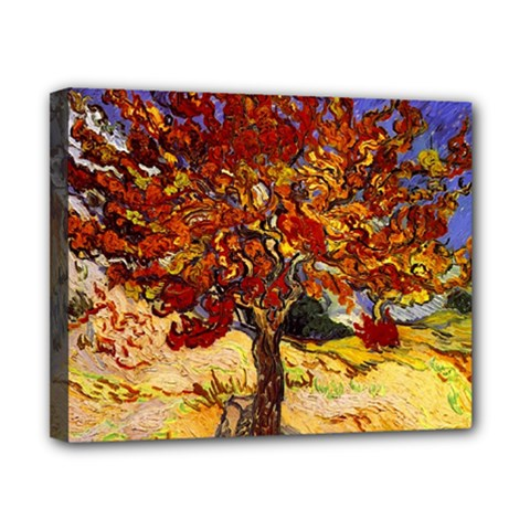 Vincent Van Gogh Mulberry Tree Canvas 10  X 8  (framed)