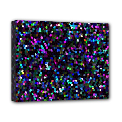 Glitter 1 Canvas 10  x 8  (Framed)