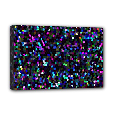 Glitter 1 Deluxe Canvas 18  x 12  (Framed)