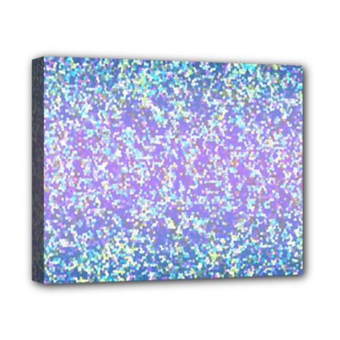 Glitter2 Canvas 10  x 8  (Framed)