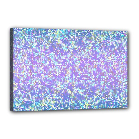 Glitter2 Canvas 18  X 12  (framed)