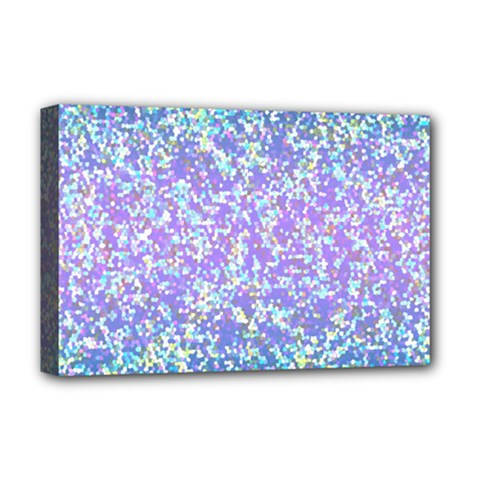 Glitter2 Deluxe Canvas 18  x 12  (Framed)