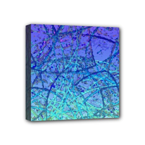 Grunge Art Abstract G57 Mini Canvas 4  x 4  (Stretched)