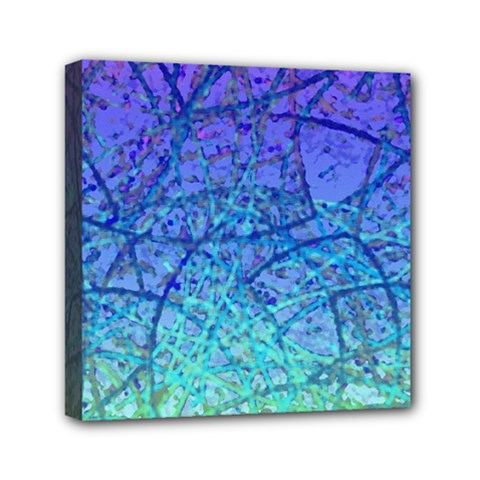 Grunge Art Abstract G57 Mini Canvas 6  X 6  (stretched)