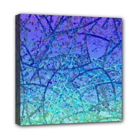 Grunge Art Abstract G57 Mini Canvas 8  x 8  (Stretched)